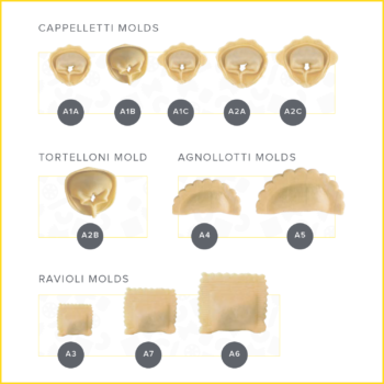 Pasta Extruder, Ravioli, Cappeletti, Pasta Machine