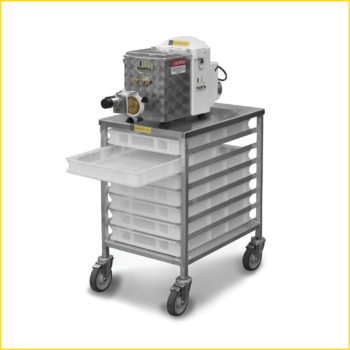 AEX18 shown with APC7 Pasta Cart
